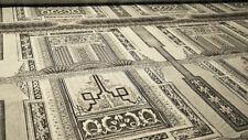 Scampoli in cotone stampato di colore bianco e nero (Mercurio col.13)