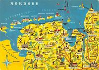B60037 Maps Cartes geographiques Nordsee