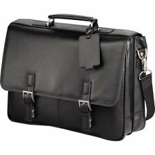 "Kenneth Cole  Leather 15.6"" Laptop Computer Business Messenger Bag"