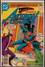 DC Comics ACTION Comics #508 SUPERMAN FN/VFN 7.0