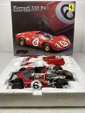 1/18 GMP 1967 Ferrari 330 P4 Brands Hatch BOAC Stewart Amon Part # GMP1804101