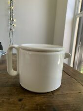 New listing Vintage white tea pot made in Italy