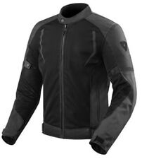 Giacca moto Rev'it Revit Torque black XL jacket estiva traforata impermeabile
