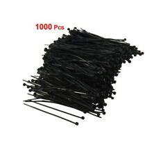 1000pcs Nylon Plastic Cable Zip Tie Trim Wrap Loop Heavy Self-Locking Cable Ties
