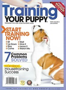 Training Your Puppy Magazine Common Problems Solved Housetraining Success 2011