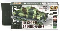 AK Interactive AK167 German Camouflage Special Modulation Set Green & Brown AFV