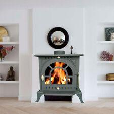 9KW JA005 High Efficient Cast Iron Log Burner Multifuel Woodburning Stove New