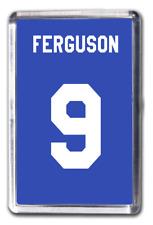 Duncan Ferguson Everton Number 9 Football Shirt Fridge Magnet Design