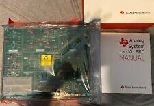 Texas Instruments Electronic Mikroe Analog System Lab Kit Pro Development Kit