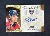 2019-20 UD Artifacts Auto Facts Auto #A-MP Mark Pysyk