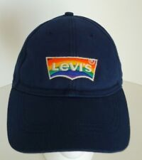 Levi's Blue Rainbow Embroidered Logo Cotton One Size Hat Cap Levi Strauss & Co