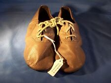 Dance Jazz Shoes Sansha Colorful Grey/Green Tie Up Size 4M *Great for Halloween*