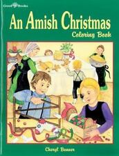 An Amish Christmas Coloring Book by Cheryl A. Benner (2013, Paperback)