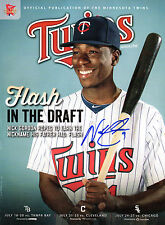 GFA Minnesota Twins * NICK GORDON * Signed Official Magazine RW1 COA