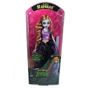 Once upon a zombie Rapunzel doll - new