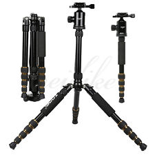 Zomei Z699 Aluminum Pro Light 5 Section Tripod Monopod with Detachable Ball Head