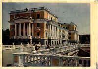 Archangelsk Russland Sowjetunion ~1956 Bauwerk Säulen-Gebäude Vintage Postcard