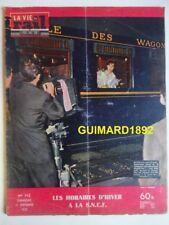 La Vie du Rail n°712 13 septembre 1959 Les horaires d'hiver à la SNCF