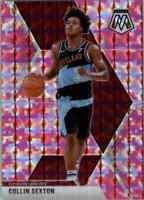 2019-20 Panini Mosaic Collin Sexton Pink Prizm Cleveland Cavaliers #167