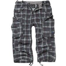Pantalones cortos de hombre grises 100% algodón