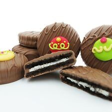 Philadelphia Candies Decorated Holiday Ornaments Milk Chocolate OREO® Cookies