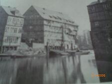 Hamburg - alte Fotografien - Bleichenfleet 1878,Bohnsplatz/Ellerntorsbrücke 1879