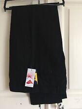Clubclass Mens Black work trousers size 32 waist 34 inside leg