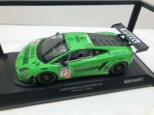 1:18 Minichamps Lamborghini Gallardo LP600 GT3 Lime Green Race Car
