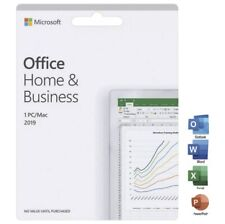 Microsoft Office Home and Business 2019 (Win10 and Apple MacOS) - Email Delivery