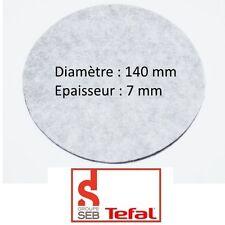 Seb Tefal Ss-984689 Filtre Rond Friteuse Diam140mm Epais 7mm Mousse 794368