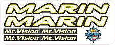 Marin Mount VISION Adesivo Decalcomania Set