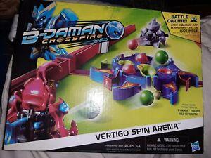 B-Daman Crossfire Vertigo Spin Arena/ Hasbro Toys - BNIB
