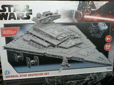 More details for star wars paper model kit imperial star destroyer set 342 pcs