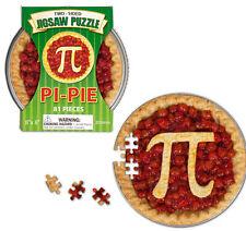 Pi-Pie Two-Sided Jigsaw Puzzle With Storage Tin 20 cm x 20 cm