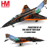 HM HOBBY MASTER Phantom RF-4E The end of this film 1/72 diecast airplane model