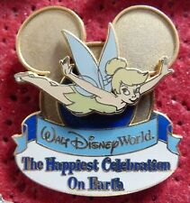 PIN'S WALT DISNEY PIN TRADING TINKER BELL THE HAPPIEST CELEBRATION ON EARTH