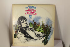 "eric is here eric burdon and the animals e-4433 12"" vinyl lp MGM"