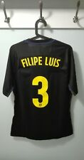 CAMISETA SHIRT ATLETICO MADRID PLAYER ISSUE MATCH UN WORN 16/17 FILIPE LUIS XL +