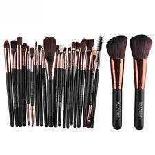 22 piezas PRO Cepillo Cosmético Maquillaje Colorete Sombra De Ojos Base Brochas