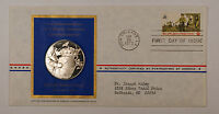 1973 Postmasters Of America Commemorative Silver Medal Colonial Communications