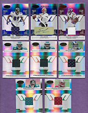2006 Leaf Certified Materials Football Lot of 8 Freshman Fabric New Generation