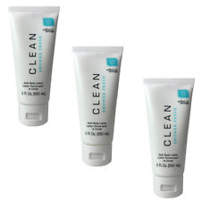 Shower Fresh by Clean for Women Combo Pack: Body Lotion 6 oz. (3 x 2 oz.) NEW