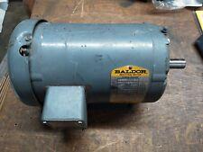 Baldor Electric Motor M3556T 1 HP 3 PH 208-230/460VAC 3Ph 1140RPM 145T