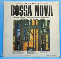 JIM HELMS BOSSA NOVA LP 1963 SHRINK BUDDY COLLETTE GREAT CONDITION! VG+/VG!!