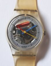 Swatch Watch-1986-Little Jelly-LW103-Nice Condition-Polished Crystal-New Battery
