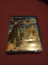PS VITA GAME SWORD ART ONLINE HOLLOW REALIZATION NEW PRECINTED