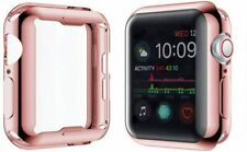 Apple Watch Pink Silicone Case Complete Protection for Series 5 & 4, 44mm