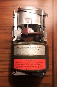 Vintage Portable M-1950 Stove, Gasoline Burner U.S. Rogers - Akron, Ohio 1966 !!