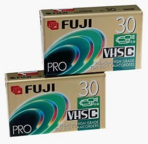 Fujifilm ProTC30 VHS-C (2-Pack) (Discontinued by Manufacturer)