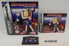 Bomberman TOURNAMENT (Nintendo Game Boy Advance 2001) COMPLETE! GBA RPG
